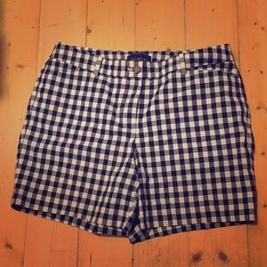2/$15 The perfect gingham shorts!